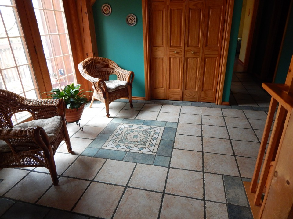 tiled floors with beautiful tile patterns